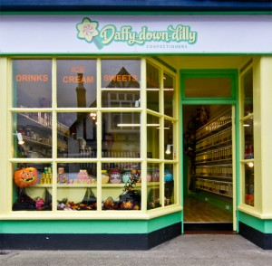Daffy Down Dilly Shop Sidmouth outside