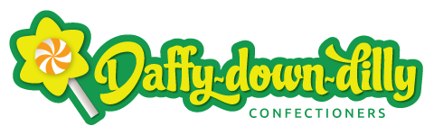 Daffy Down Dilly confectioners website logo - Sweets & treats for every occasion