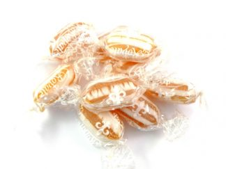 Butter Mints are traditional wrapped mints with a buttery flavour