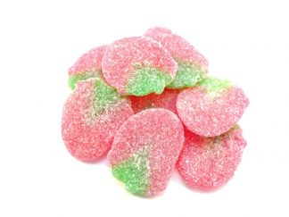Fizzy Strawberry sweets are a tasty strawberry fizzy sweet with a great strawberry shape