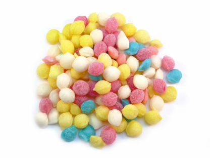 Sherbet Pips Sweets are a traditional teeny tiny sweet with a sherbet and slightly fizzy taste in a rainbow of colours