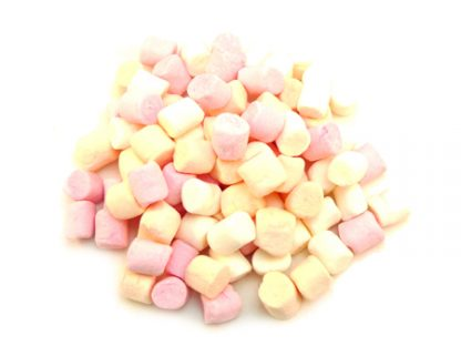 Mini Pink & White Marshmallows are tiny little marshmallows perfect for use in hot chocolates