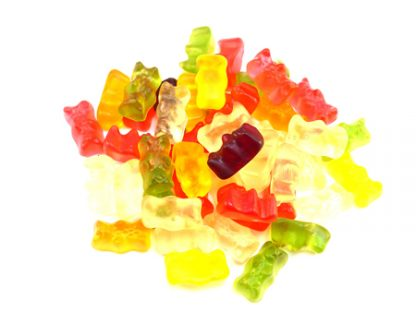 Sugar Free Teddy Bears sweets are made by Haribo and consist of lovely little teddy bear shaped sweets in various colours