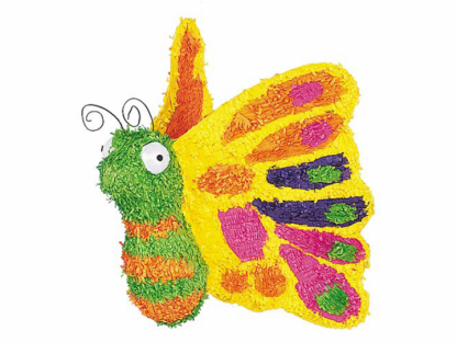Butterfly Piñata - a colourful and beautiful addition to any party! Fill with sweets and enjoy!