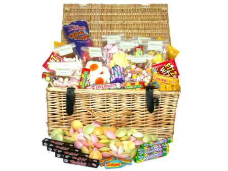 Large Retro Sweet Hamper
