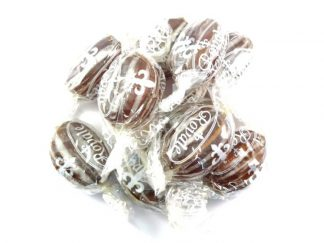Old Fashioned Mints are a tasty mint sweet with a delicious mint flavour and an attractive brown and cream stripe