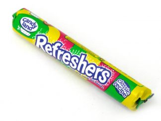 Our Refreshers sweets fizzy sweets are made to an original recipe and famous for their great slightly shape flavour and attractive packaging