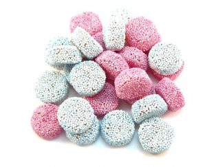 Spogs (Jelly Aniseed Buttons) are we think the very best part of a Liquorice Allsort! The lovely Aniseed flavoured jelly sweets that come in pink and blue - yum!