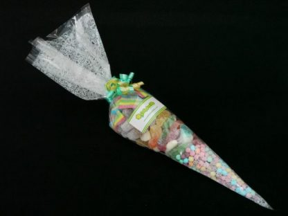 beautiful fizzy sweet party cone bags, ideal for party favours and for anyone with a sweet tooth