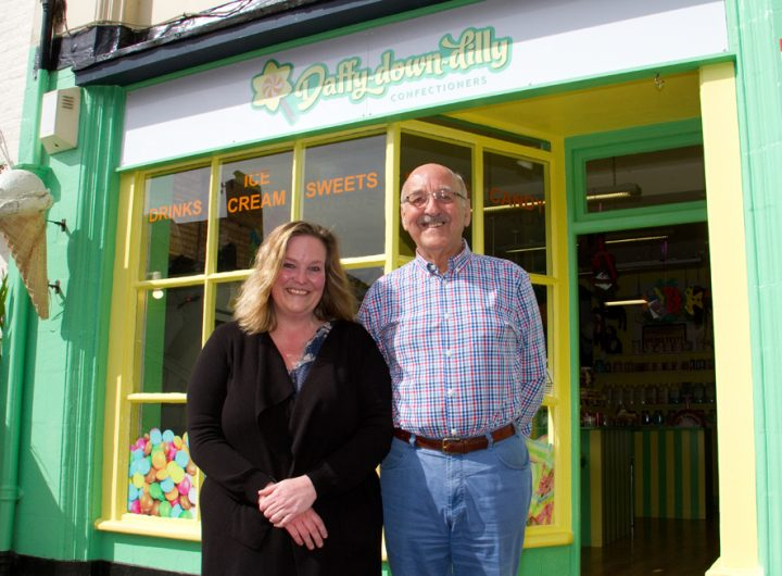 Gordon and Natalie from DaffyDownDIlly confectioners