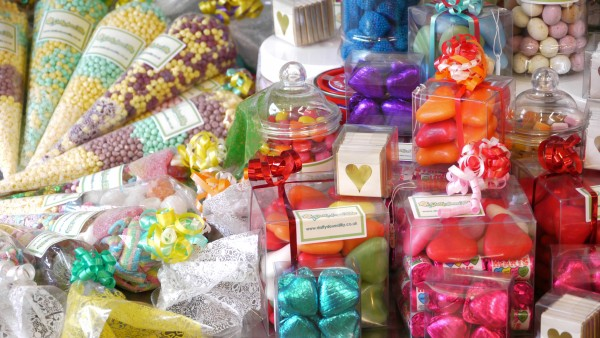 Father's Day sweets - A compilation shot of some of the sweet gifts available at our sweet shop