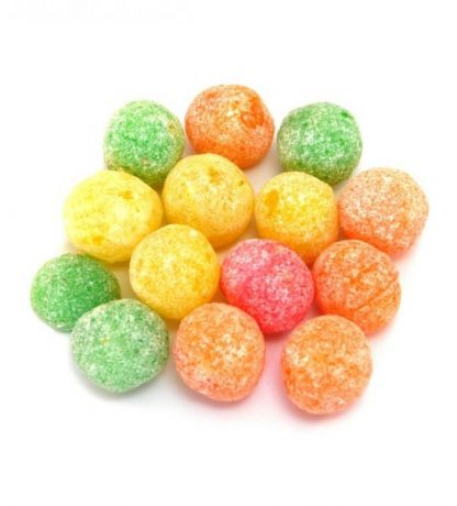 A colourful and tasty traditional sweet with a boiled fruit sweet flavour and a fizzy taste!