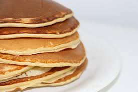 a stack of pancakes all ready for Pancake Day