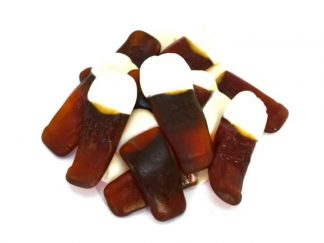 Traditional jelly sweets with a distinctive beer flavour, our pint pots sweets are a favourite choice.
