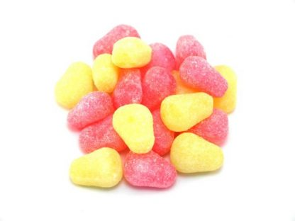 One of the most popular traditional sweets, these are small pear drops - strong in flavour and a very popular boiled sweet