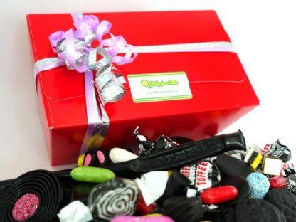 liquorice gift box containing 1 kilo fo quality assorted liquorice