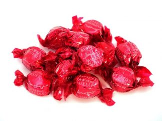 Beautifully wrapped in Raspberry coloured attractive wrappers, Raspberry Ruffles are a delicious chocolate treat