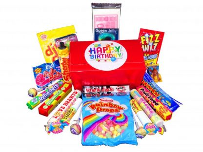 Fruit salad, blackjacks, propping candy... all the great retro sweets
