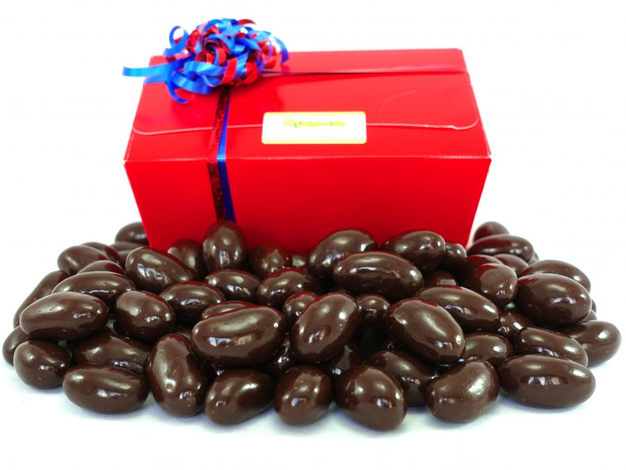 Dark chocolate brazil box