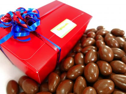 Milk Chocolate Brazils in a gift box