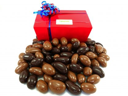 Milk and Dark chocolate Brazils gift box