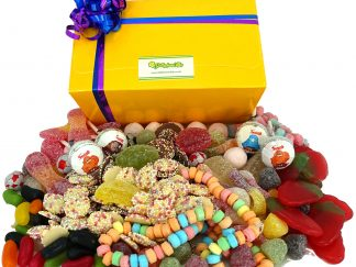 Vegetarian sweets in a gift box
