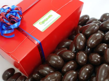 Dark chocolate brazils gift box