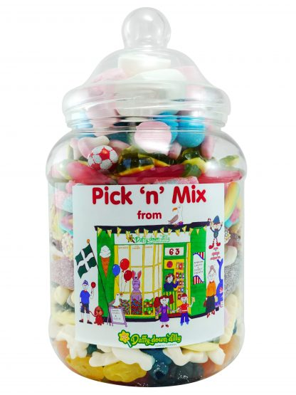 Pick and mix sweet jar