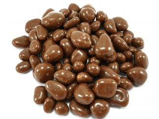 Delicious chocolate coated honeycomb pieces