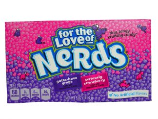 Grape and strawberry Nerds