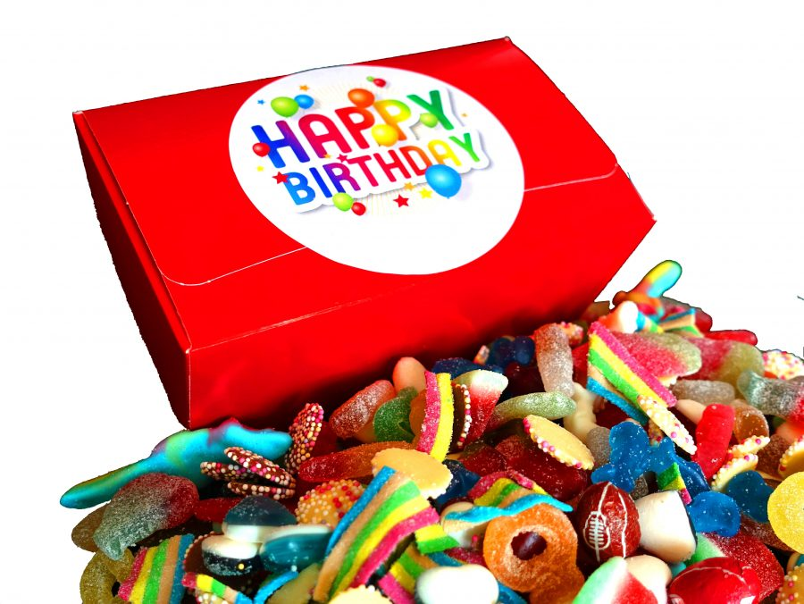 Sweet gift box suitable for birthday present