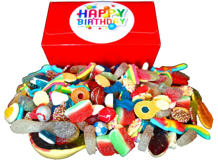 Happy Birthday sweet gift box