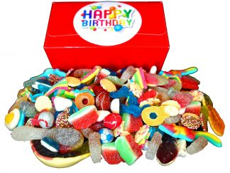 Happy Birthday sweet gift box