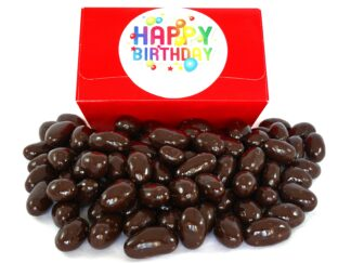 Dark Chocolate Brazils Happy Birthday gift box