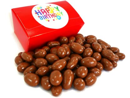Milk chocolate brazils birthday gift box