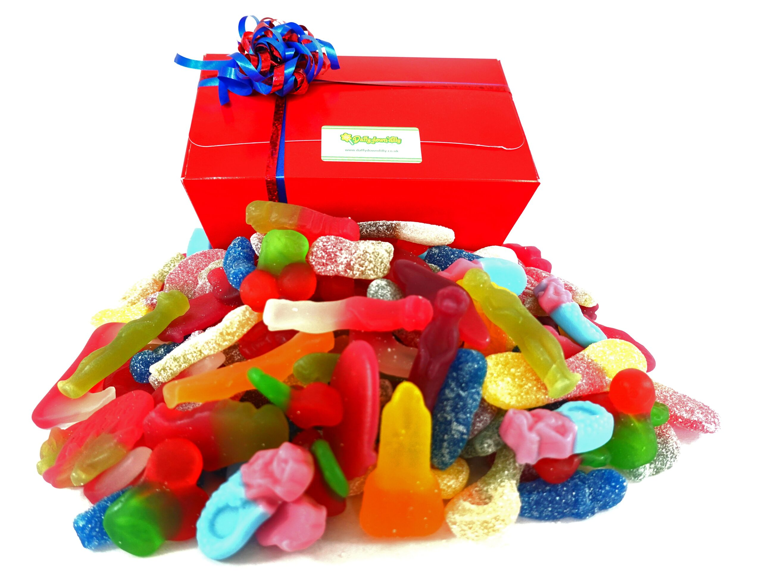 Vegan pick and mix sweet gift box