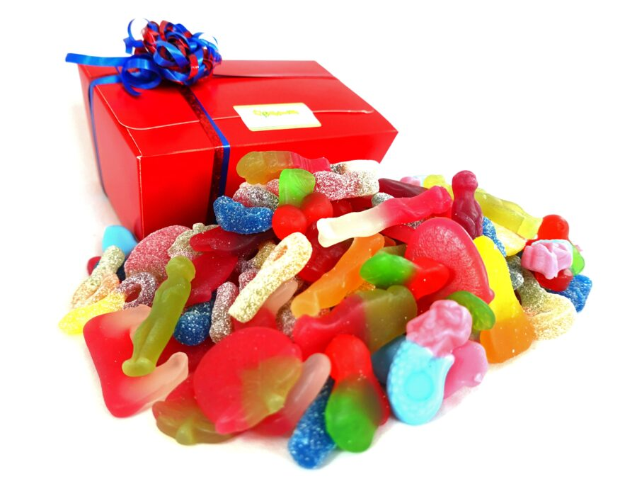 vegan box of sweets