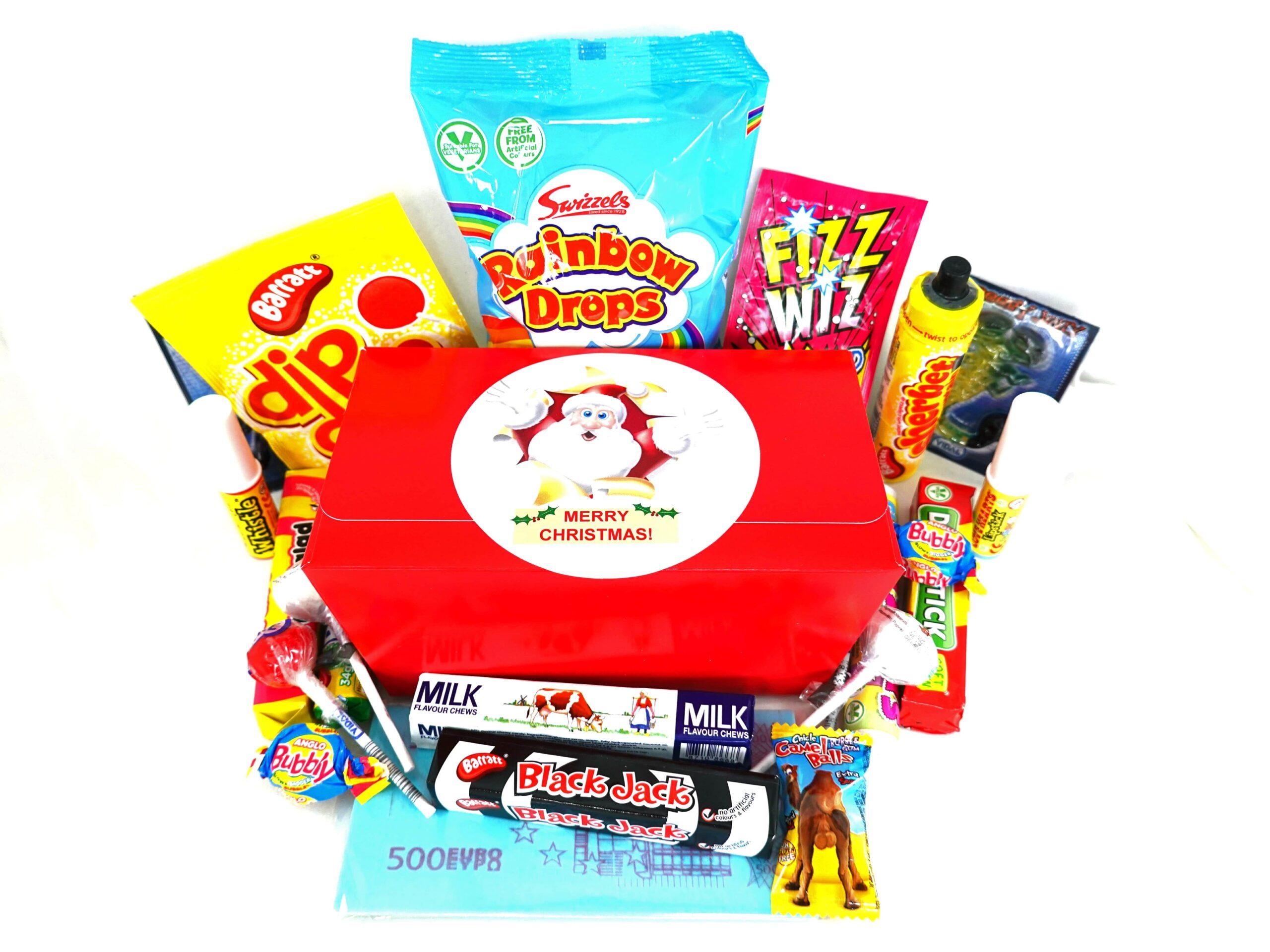Christmas retro sweet selection box