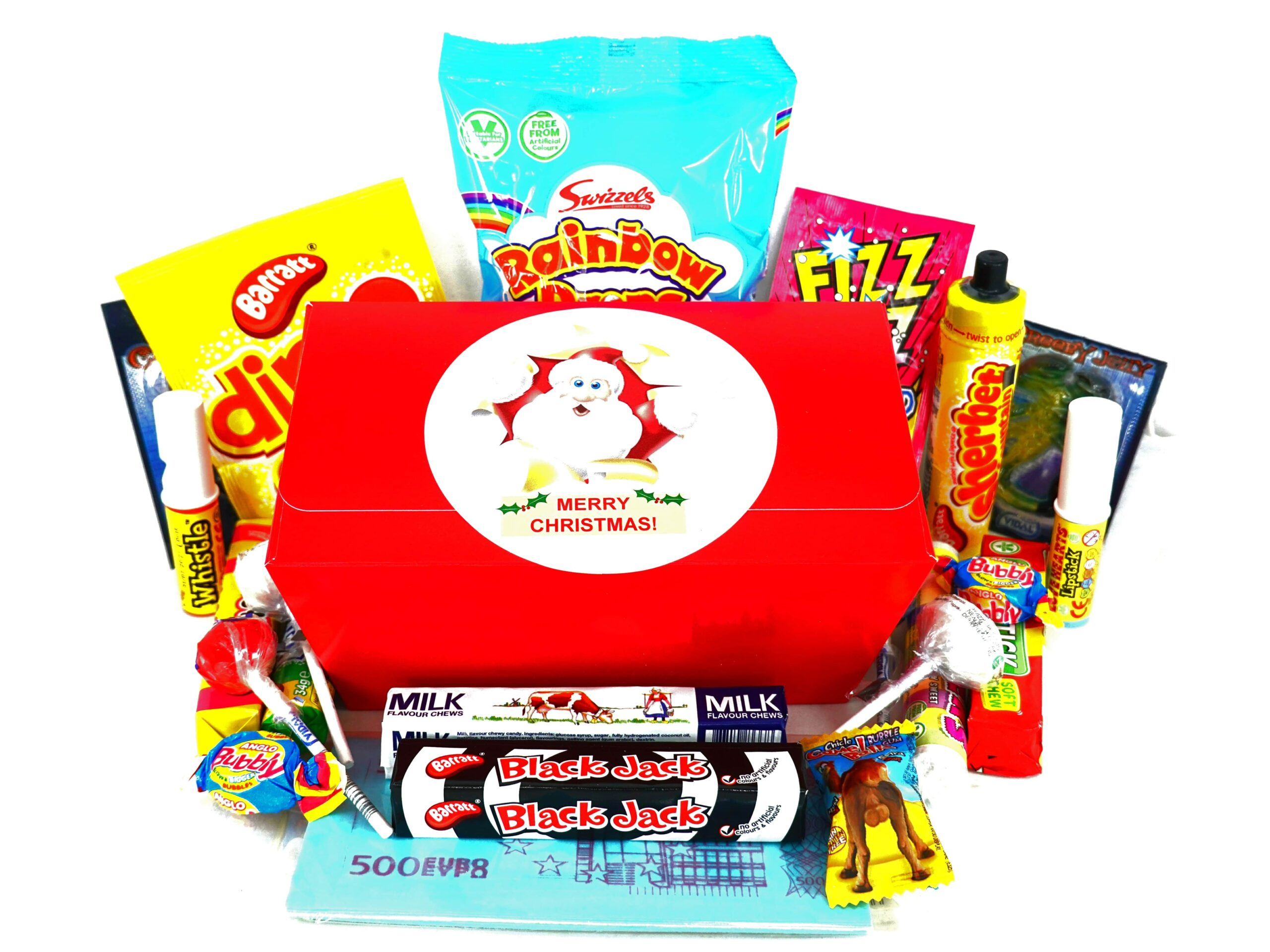 Selection box of sweets