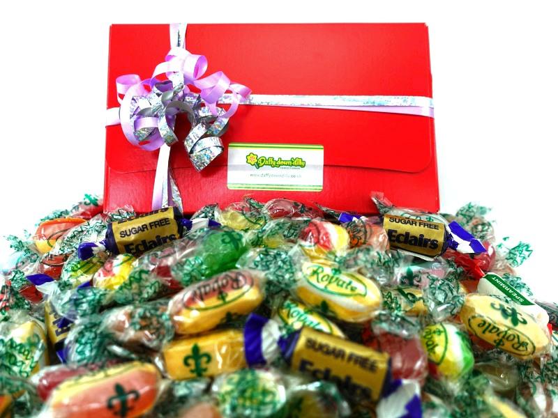 presentation gift box suitable for diabetics