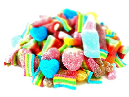 Fizzy sweets pick and mix
