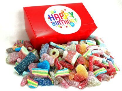 Happy Birthday fizzy sweet gift box
