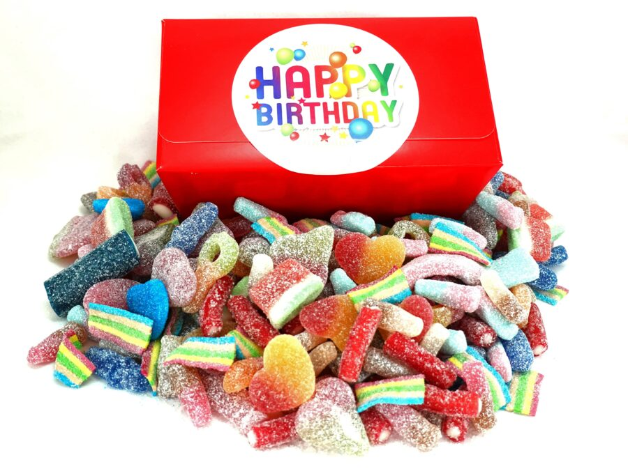 Fizzy Sweets Birthday gift box