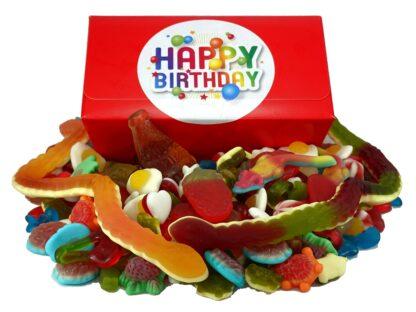Happy birthday Jelly sweet gift box