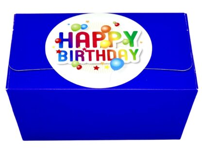 Blue Sweets gift box for Birthdays