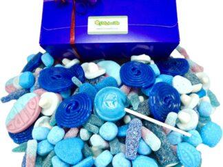 Blue sweet gift box