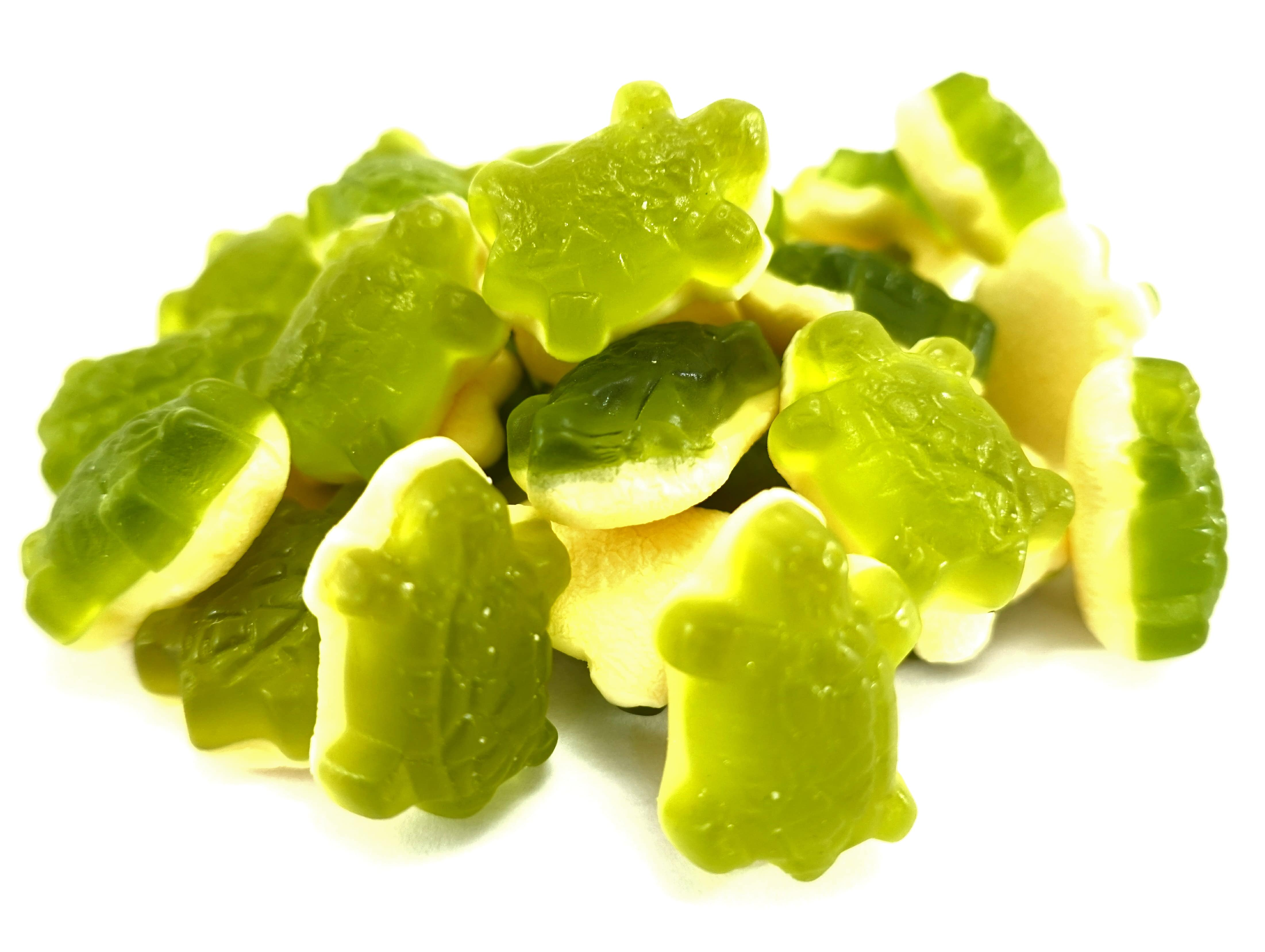 Turtle shaped jelly sweets