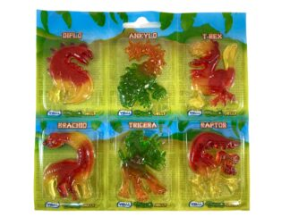 Dinosaur jelly sweets